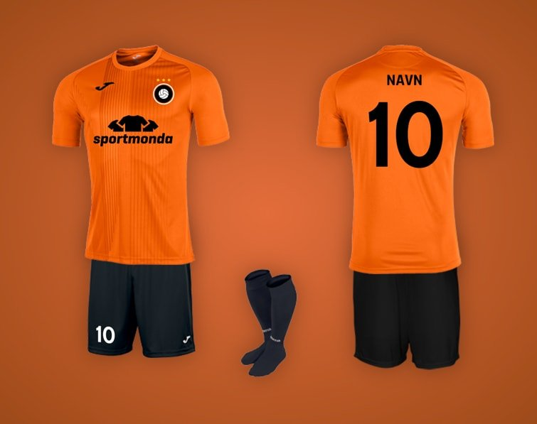 joma tiger orange holdsæt