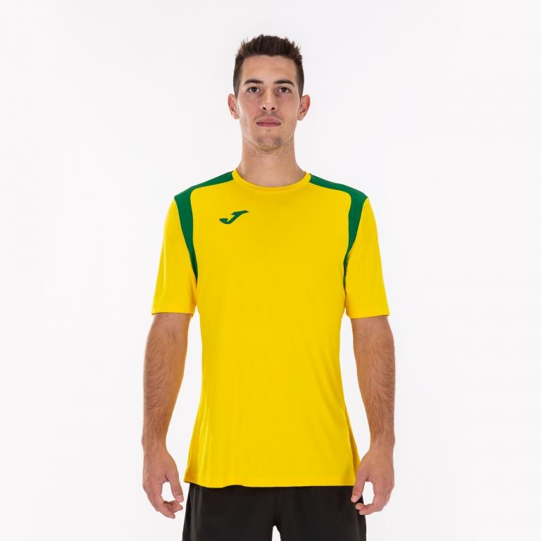 Joma Champion V fodboldsæt i brasilienske farver.